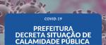 DECRETO CALAMIDADE PÚBLICA