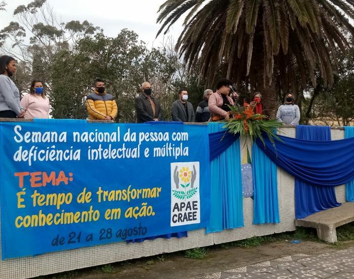 PREFEITO PARTICIPA DA ABERTURA OFICIAL DA SEMANA NACIONAL DA PESSOA COM DEFICIÊNCIA.